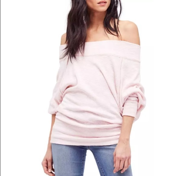 5b28c5b4648dfc Free People Sweaters - New Free People Palisades Off the Shoulder Sweater
